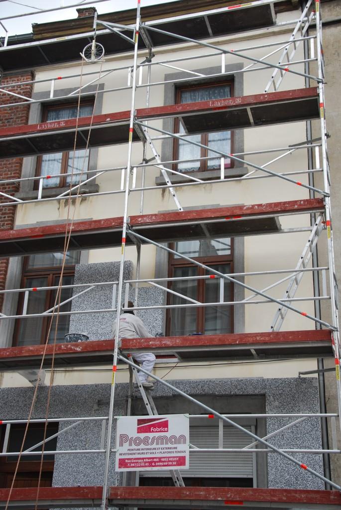 Isolation et cr pis de fa ade fabrice proesman Isolation de facade