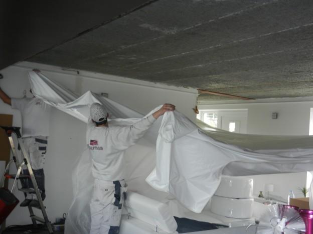 Proesman Decoration - Pose d'un plafond tendu